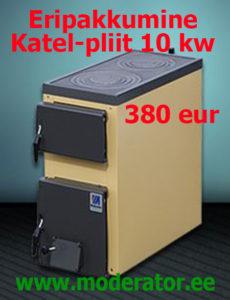 Katel-pliit 10 kw